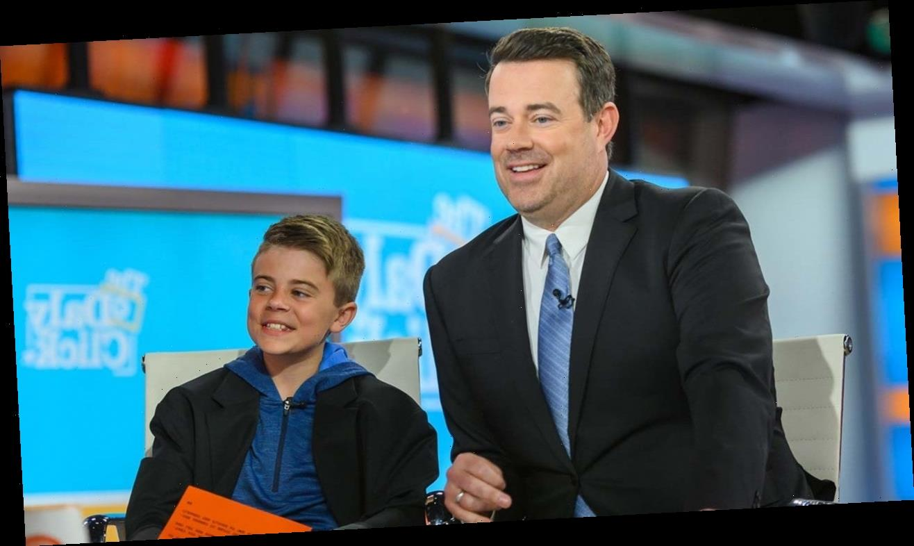 Carson Daly S Son Jackson Makes His Nightly News Debut The