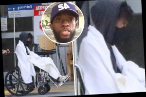 Chadwick Boseman Gets Dropped Off At The Er In New Photos Two Months After Fans Worried Over Extreme Weight Loss The Sun The Great Celebrity
