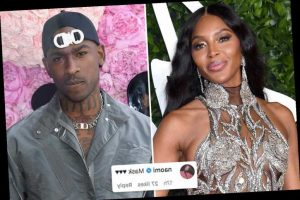 Naomi Campbell Posts Flirty Message To Ex Skepta On Instagram Despite His Rumoured Romance With Adele The Great Celebrity